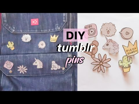 DIY Tumblr Pins - Indonesia