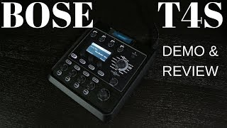bose t4s tonematch   demo review