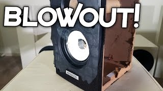 CHEAP KENWOOD SPEAKER BLOWOUT!