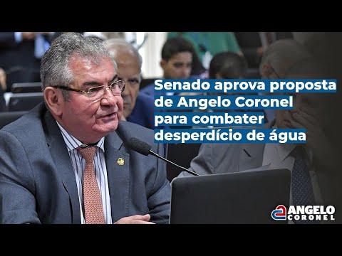 Resultado de imagem para Senado aprova propostas de Coronel para combater desperdício de água