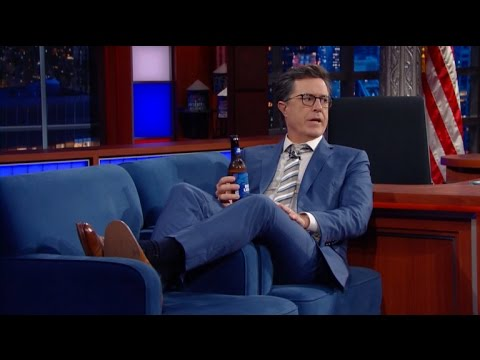 Stephen Colbert Had A Long Night