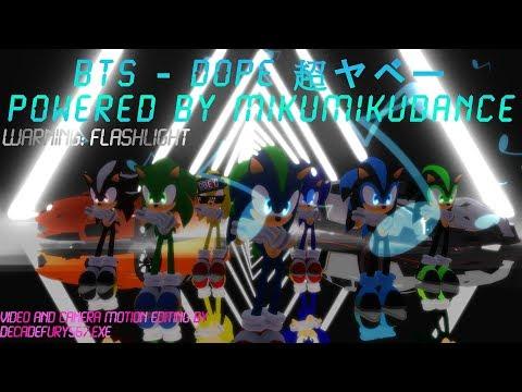 [MMD x Jaiz Koys] BTS - Dope (Warning: Flashlight)