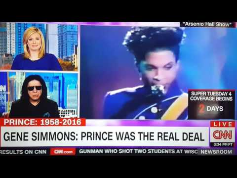 Prince Tribute By Gene Simmons, Bruce Springsteen, Eric Clapton Pt 1