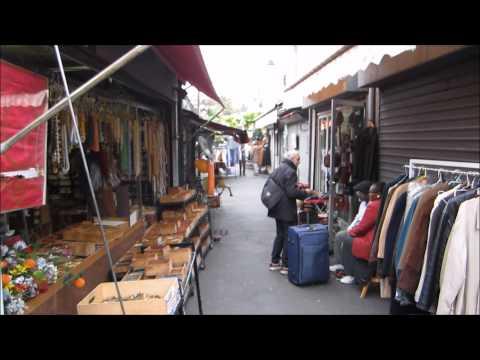 A visit to St Ouen markets, Paris