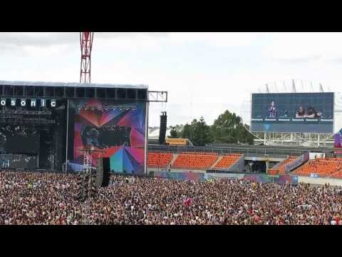 sing along with Zedd - clarity - technical issue at Stereosonic Sydney 2013