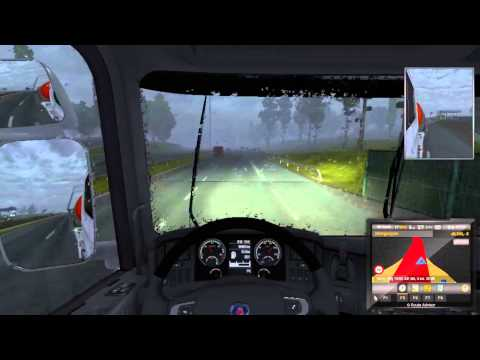 Euro Truck Simulator 2 #12 Tehlikeli Madde (Türkçe/Gameplay/HD)