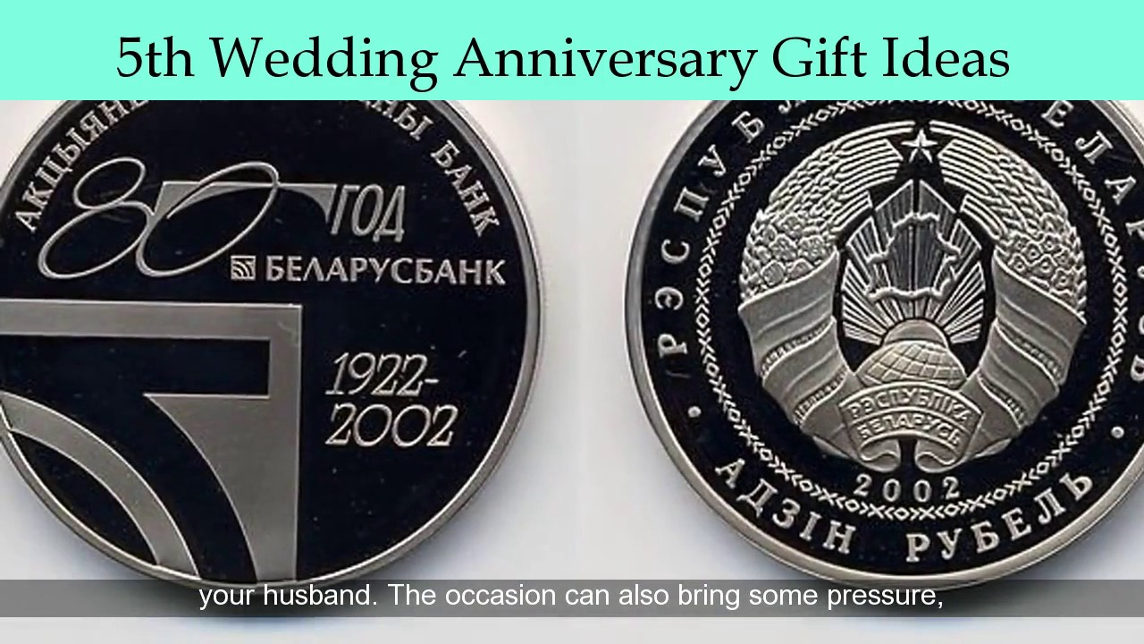 5th Wedding Anniversary Gift For Him: Unique 5th Wedding Anniversary Gifts For Him
