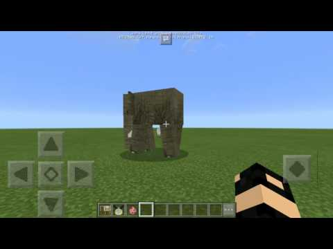 Minecraft PE ( Elephant Addon In Minecraft Pocket Edition)