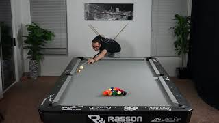 25 Fun Straight Pool Breaks (14.1) -- Venom Trickshots