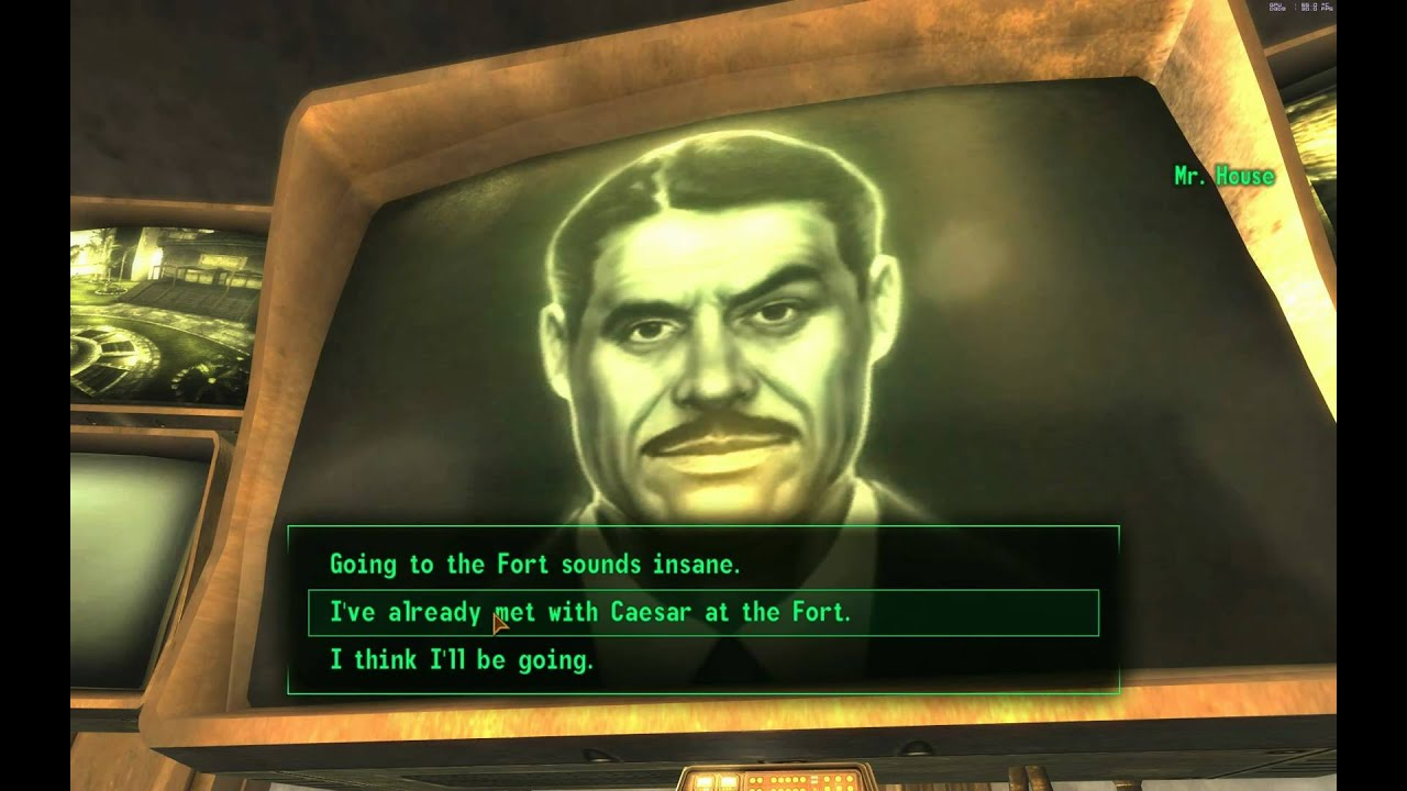 Fallout New Vegas Gameplay Part 49 Meeting Mr House At Lucky 38 Full Walkthrough In 1080p HD
