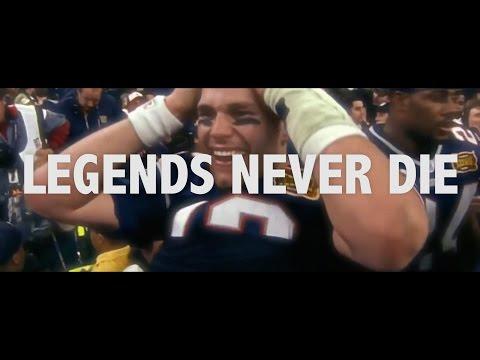Legends Never Die – Patriots Hype Video 2016-2017