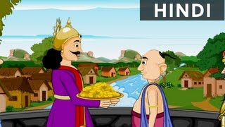The Power Of Magic - Tales Of Tenali Raman In Hindi - Animated/Cartoon Stories For Kids