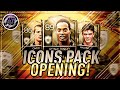 Fifa mobile 18 insane icons pack opening/ronaldinho/owen and more