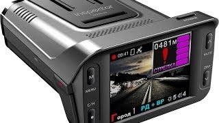 видео Видеорегистратор с антирадаром и навигатором
