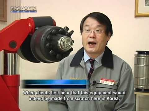 Rifeng Heavy Transporter producing by Korean - YouTube