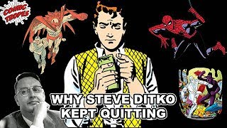 Why Steve Ditko Quit