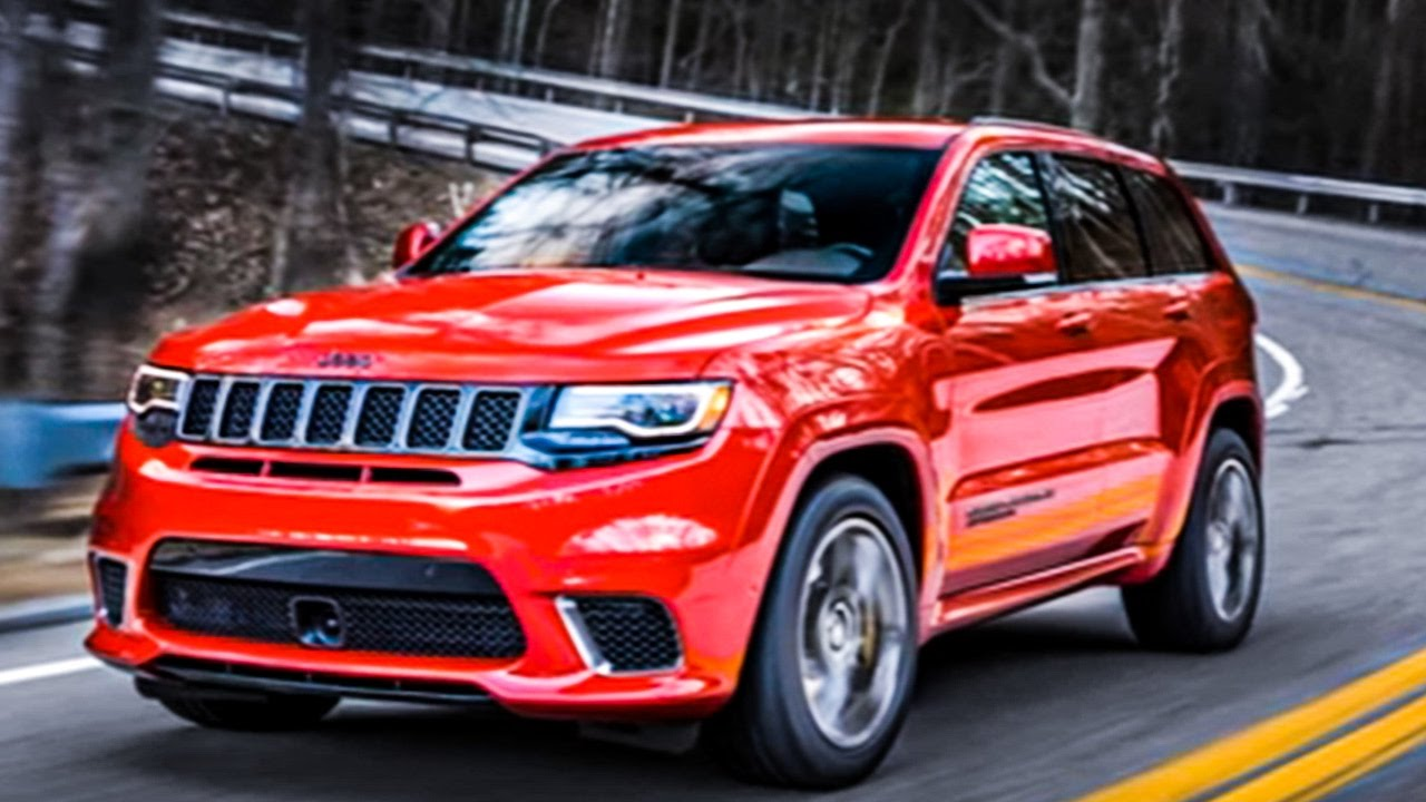 The fastest SUV Ever! 2018 Jeep Grand Cherokee Trackhawk - YouTube