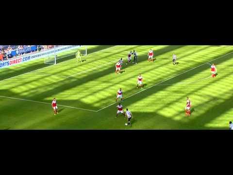 Ben Arfa Vs Fulham (A) HD 720p 13/14 By BenArfa10i