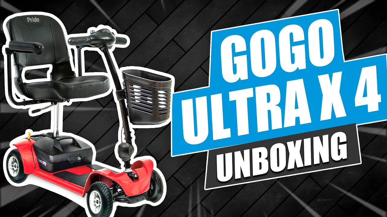 GOGO Ultra X 4 Wheel Mobility Scooter Unboxing