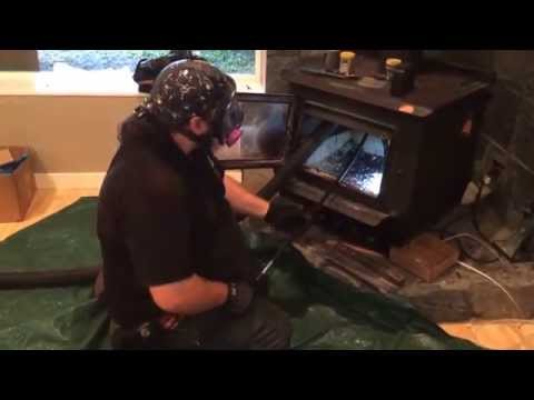 Sooteater Power Chimney Cleaning Wood Stove Bottom Up