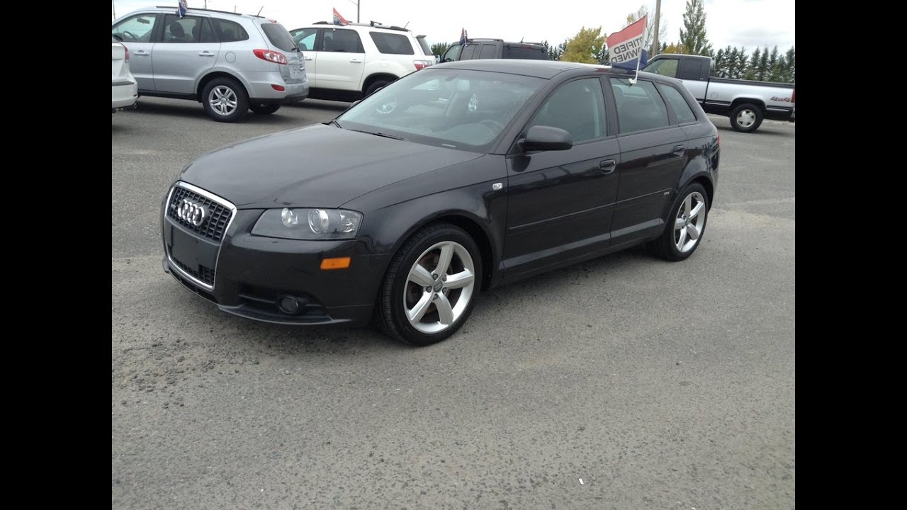 2008 Audi A3 Quattro Wagon Start Up Exhaust And In Depth