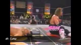 "The Top 100 Moves Of Bret ""Hitman"" Hart"