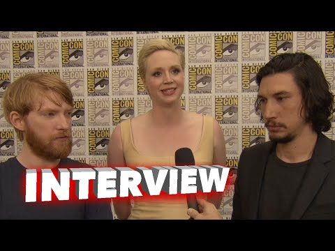 Star Wars: The Force Awakens: Domhnall Gleeson, Gwendoline Christie & Adam Driver ComicCon Interview