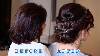 #UPDO #HAIRSTYLE FOR #SHORT HAIR #TUTORIALS #เกล้าผม #ผมสั้น