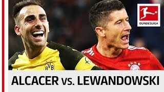 Paco Alcacer vs. Robert Lewandowski - Two Record-Breaking Strikers Go Head-to-Head