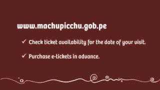 Notice Machu Picchu