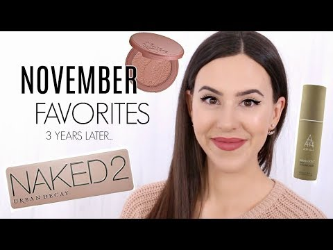 November Favorites 2014 to 2017 || Update on Old Favorites