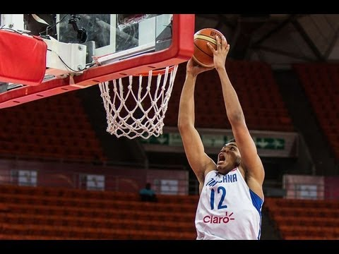 Karl-Anthony Towns - #FIBAAmericas - Day 12: Dominican Republic v Puerto Rico - Dunk of the Game