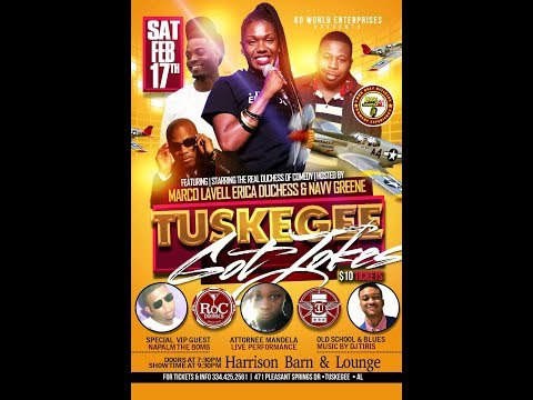 TUSKEGEE GOT JOKES  PROMO 30 SEC