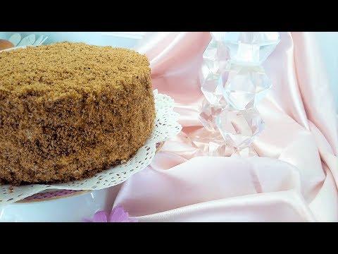 Fantastic Healthy HONEY CAKE Without Flour And Sugar | Medovik Recipe