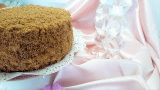 Fantastic healthy HONEY CAKE without Flour and Sugar | Medovik Recipe