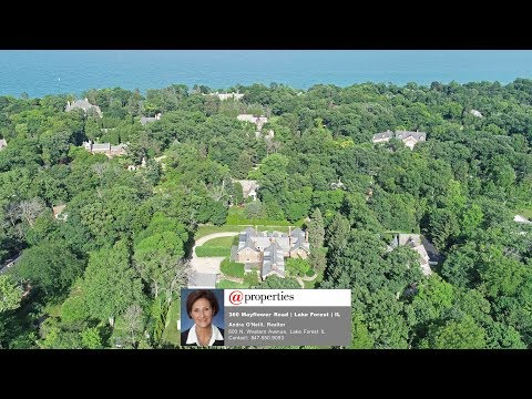 360 Mayflower Road Lake Forest IL 60045 -- House for Sale