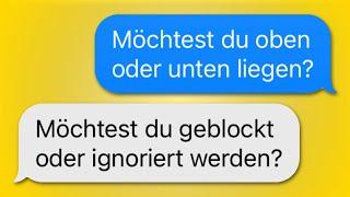 16 WhatsApp CHATS zwischen MÄDELS und JUNGS!