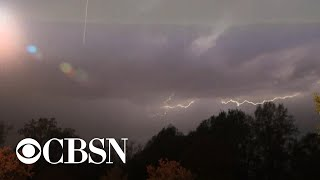 Severe weather takes aim at large swaths of the central U.S.