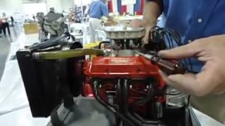 Petite nouvelle Chevrolet miniature Course monde des moteurs de modèle V8 à bloc compact le plus dét