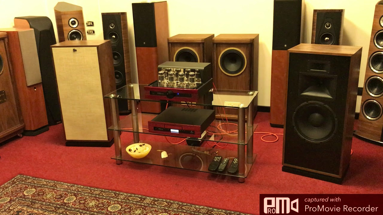 NEW 2017 Klipsch FORTE III Special Edition driven by Tubes!!!