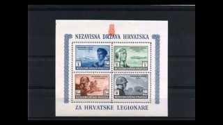 Марки в поддержку легионов СС.Stamps in support of the legions of the Drittes Reich