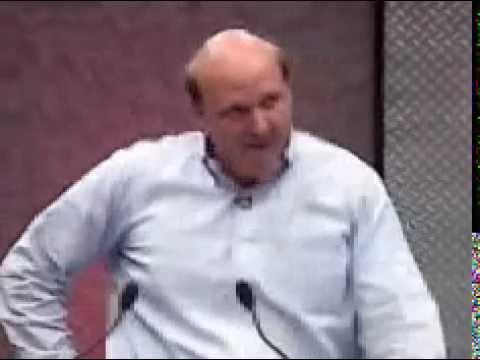 Steve Ballmer / Die geilste Eröffnung einer Rede