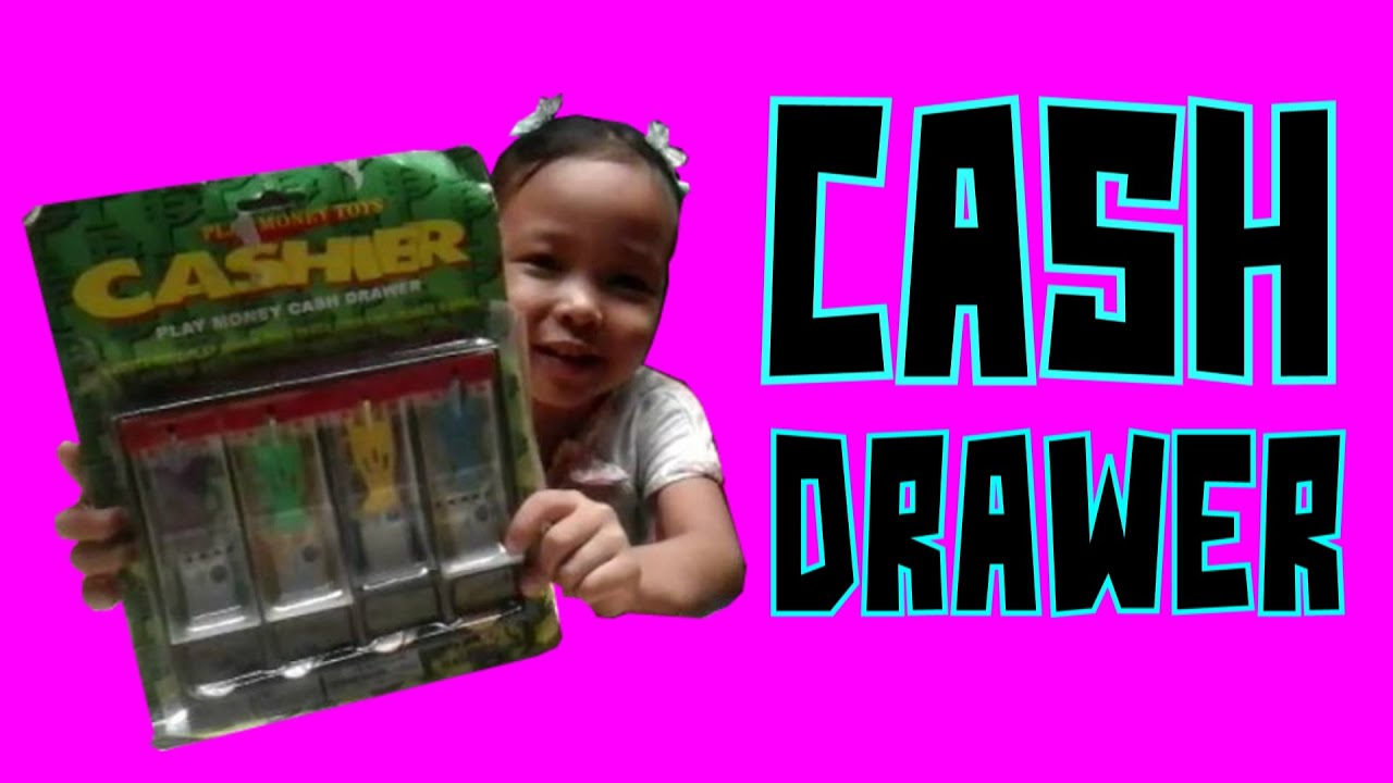 Play Money Toy : Unboxing and playtime the cashier play money toys cash