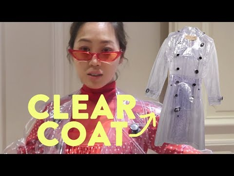 I Wore Plastic To A Fashion Show  Aimee Song