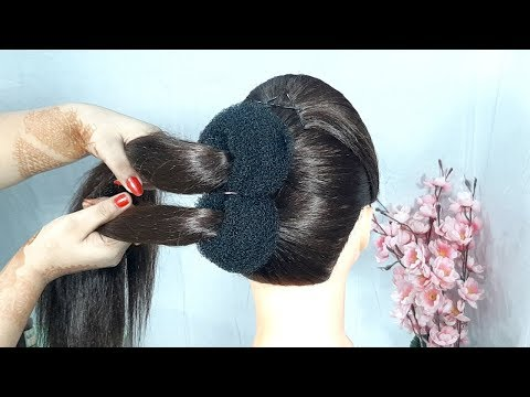 Most Beautiful Hairstyles || New messy Juda Hairstyle || Hair Style Girl || Trending hairstyles thumbnail