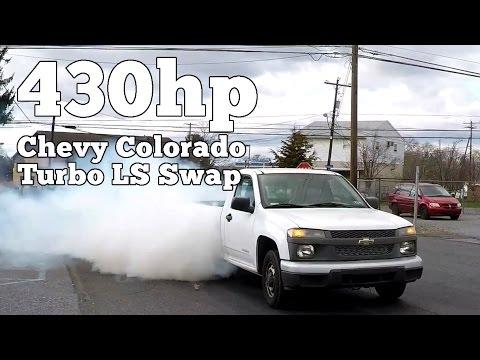 430hp Chevy Colorado Turbo LS Swap
