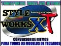 COMO INSTALAR E CRAKEAR O STYLE WORKS XT V.376