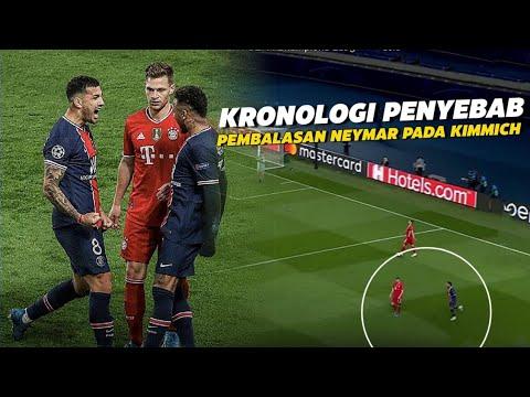 Awalnya Sombong Duluan !!! Inilah Detik Detik Neymar Membalas KIMMICH Sebelum Masuk Ruang Ganti