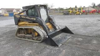 1997 New Holland LX885 Tracked Skid Steer Loader W/ Cab