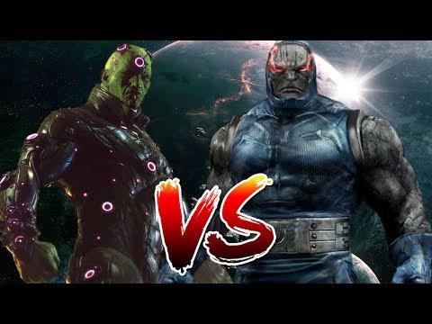 Darkseid VS Brainiac   Who Wins?
